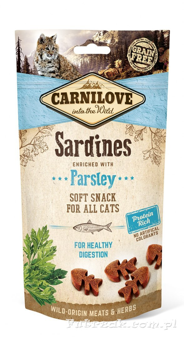 Carnilove Sardines with Parsley/50g