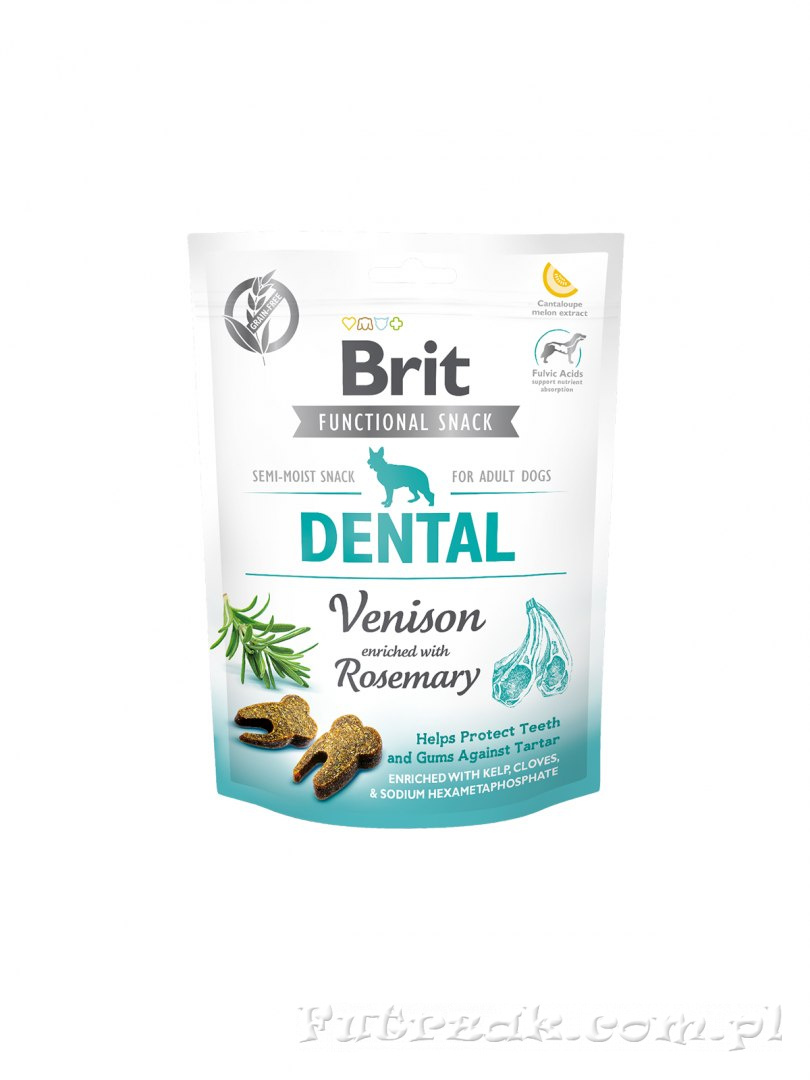 Brit Dental Snack Venison with Rosemary/150g