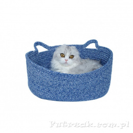 Oval Cat Bed Marine